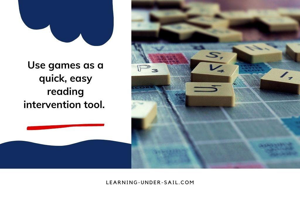 Upper Elementary reading game