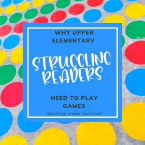Upper Elementary Reading Games for Struggling Readers