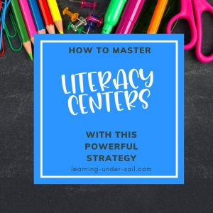 literacy center supplies